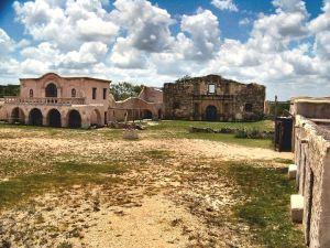 John Wayne Alamo set