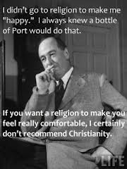 CS Lewis Port makes you happy not Christianity