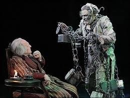 Jacob Marley and Scrooge