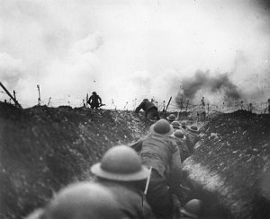 WWI out of the trench