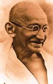 Gandhi older