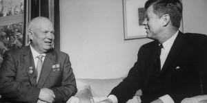 Nikita S. Khrushchev;John F. Kennedy