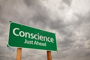 poor conscience--sign