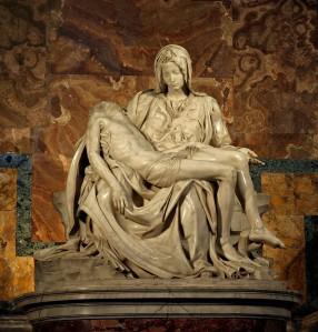 is God good  The Pieta