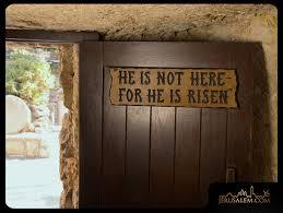 door of the tomb--door and sign