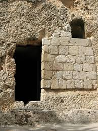 resurrection--door of tomb