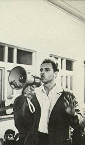 Fear in the public square--Mario Savio bullhorn