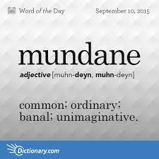 mundane definition