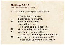 lords-prayer-niv
