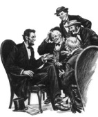 lincoln-telling-stories
